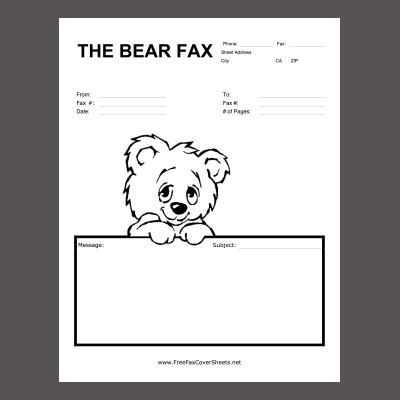 Free Fax Cover Sheet Download Fax Cover Sheet Template